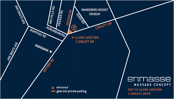 Map Directions to Enmasse location